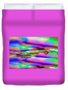 September Sunrise Abstract Duvet Cover