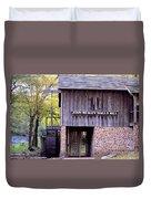 September's Grist Mill Duvet Cover