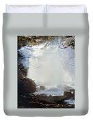 Sequoia Nat Pk Waterfalls Duvet Cover