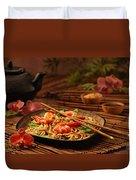 Serene Cuisine Duvet Cover