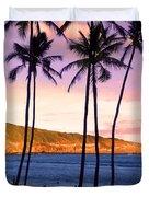 Serene Waimea Bay Duvet Cover