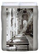 Zen Of Prayer Duvet Cover