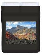 Setting Desert Sun Duvet Cover