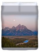 Setting Moon Duvet Cover