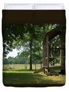 Settlers Cabin Arkansas 2 Duvet Cover