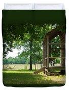 Settlers Cabin Arkansas 4 Duvet Cover