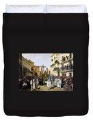 Seville: Good Friday, 1862 Duvet Cover