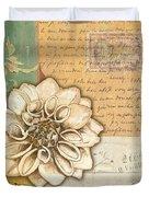 Shabby Chic Floral 1 Duvet Cover