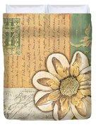 Shabby Chic Floral 2 Duvet Cover