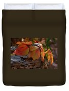 Shade In Fall Duvet Cover