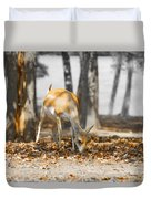 Shaded Grazing Duvet Cover