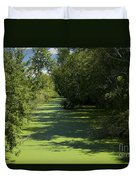 Shades Of Green Duvet Cover