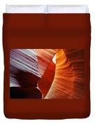 Shades Of Red - Antelope Canyon Az Duvet Cover