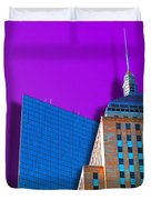 Shadow Of The City Duvet Cover