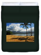 Shadows In The Sand Duvet Cover
