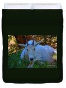 Shady Goat Duvet Cover