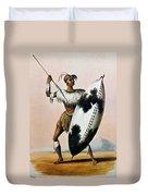 Shaka Zulu (c1787-1828) Duvet Cover