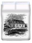 Shaker Church, 1875 Duvet Cover