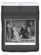Shakespeare: King Henry V Duvet Cover