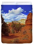 Shakespeare Trail In Kodachrome Park Duvet Cover