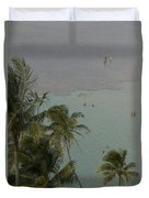 Shallow Waters At The North Shore Duvet Cover