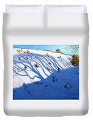 Shandows On A Hill Monyash Duvet Cover
