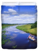 Shannon-erne Waterway Duvet Cover