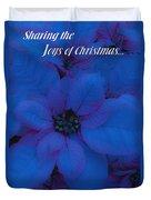 Sharing The Joys Of Christmas Duvet Cover