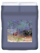 Shasta County Deer  Duvet Cover