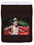 Shawl Dancer 109 Duvet Cover