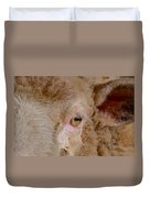 Sheep Close Up Duvet Cover