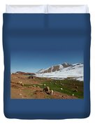 Sheep In The Atlas Mountains 02 Duvet Cover