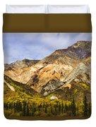 Sheep Mountain Along Glenn Highway Duvet Cover