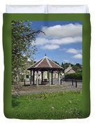 Sheepwash Well - Ashford-in-the-water Duvet Cover