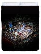 Shelby G.t. 500 Engine Duvet Cover