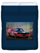 Shelby Racing Co Mustang Duvet Cover