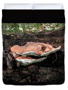 Shelf Mushrooms Duvet Cover