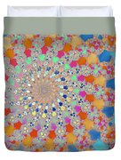 Shelly Spiral Duvet Cover