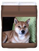 Shiba Inu Kobi-3 Duvet Cover
