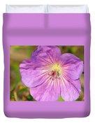 Shimmer Flower Duvet Cover