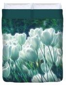 Shimmering Tulips Duvet Cover