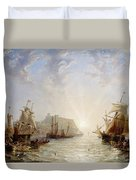 Shipping Off Scarborough Duvet Cover