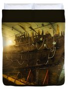 Shipwreck Of The Mary Rose, Portsmouth Duvet Cover