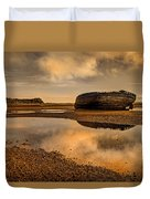 Shipwrecked Boat Duvet Cover
