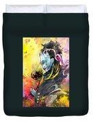 Shiva Diva Duvet Cover