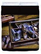 Shoe - The Shoe Cobblers Box Duvet Cover
