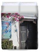 Shop On The Corner Santorini Duvet Cover