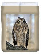 Short-eared Owl Duvet Cover