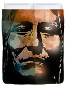 Shoshone Brave Duvet Cover