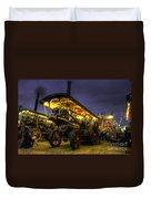 Showmans Engine By Night  Duvet Cover